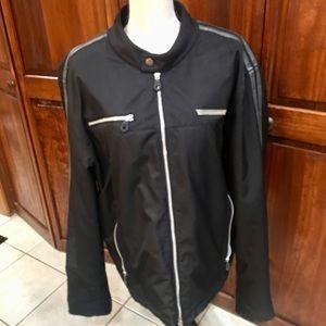 Men's XL Harley Davidson black riding jacket